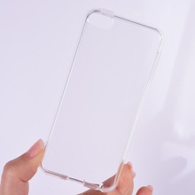 Clear Transparent Case Skin for Apple iPod Touch 6 Soft Crystal Silicone Cover
