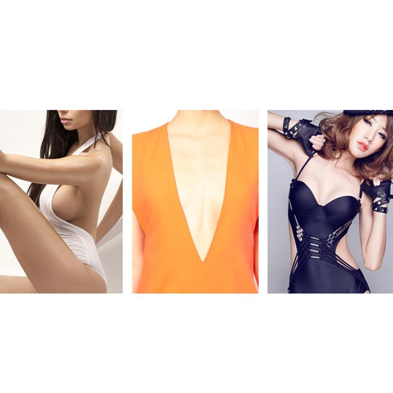 1 Pair Silicone Nipple Cover Bra Reusable Pad Invisible Bra Chest Sticker Silicone Breast Chest Breast Petals Women P2 1