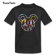 Thom Yorke Radiohead T Shirt baby Cotton British Rock Crew Neck Tshirt children's Tops 2017 Best Selling T-shirt For boys girls(China)