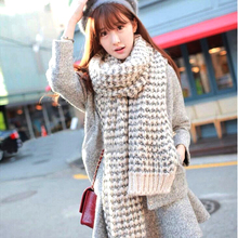 2017 winter lic Women scarf Ring wool knitted scarves Shawls neck collar Soft Comfortable thick warm Handmade scarves wraps qp01(China)