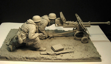 Assembly Unpainted  Scale 1/16  soldiers of the East war not have base   figure Historical WWII Resin Model Miniature Kit