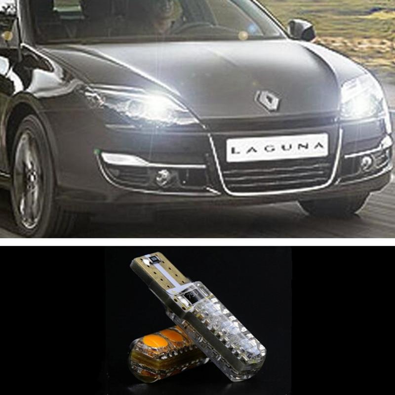 1pcs Car T10 w5w 6LED 5050SMD Width Lamp Clearance light for renault megane 2 duster logan clio laguna 2 Koleos<br><br>Aliexpress