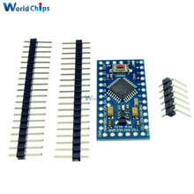 1Set Atmega328 Pro Mini 5V 16MHz Board Module For Arduino Nano Mini 328 ATMEGA328P-AU Micro Controller With 3 Pins Standard(China)