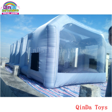10m*5m*3.5m inflatable spray booth for car painting,used portable paint booths for car