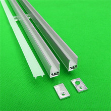 10pcs/lot  40inch 1m led strip channel ,  ultra slim 8mm wide  led aluminium profile matte for wardrobe ,crack hidden