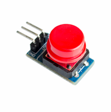 10pcs/lot Big Button Module For Arduino High Level Output