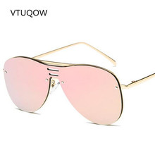 Luxury Aviator Sunglasses Women Brand Designer Retro Vintage Square Sun Glasses For Women Men Lady Female Sunglass Mirror 2017