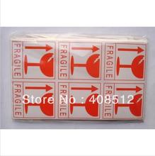 sell stock fragile sticker shipping warning labels 10 sheets total 60pcs/lot(China)