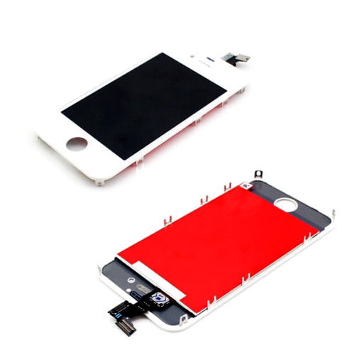 1x For Apple for iPhone 4 4G LCD Display Touch Screen digitizer + Bezel Frame Replacement Assembly white<br><br>Aliexpress