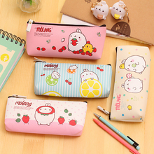 W21 Cute Kawaii Molang Rabbit Waterproof Oxford Pen Case Pencil Case Box Stationery Storage School Office Supplies Student Gift(China)