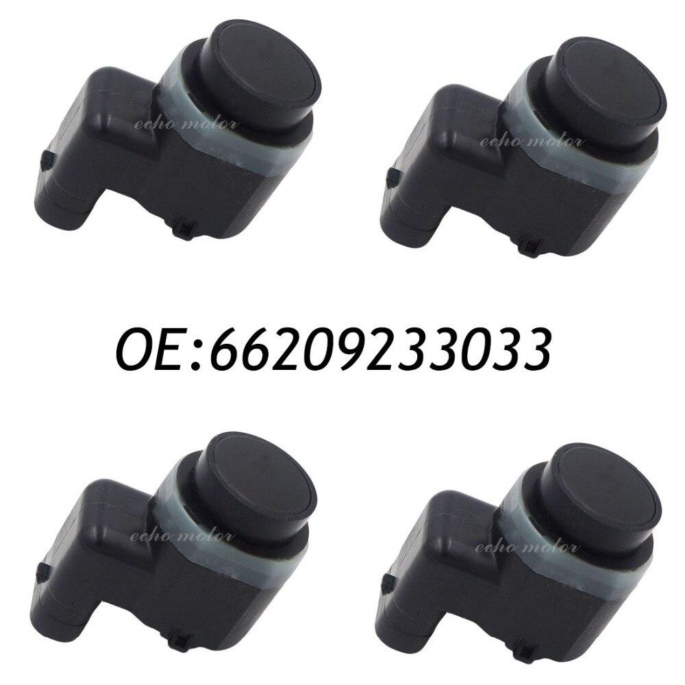New 4pcs 66209233033 9233033  PDC Parking Sensor Bumper Object Reverse Assist Radar For BMW <br><br>Aliexpress