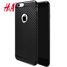 0.28 MM Ultra Thin Carbon Fiber Case Cover For iPhone 6 6s 5 5s Case Slim Soft Plastic Phone Cases For iphone 7 7 plus Cover