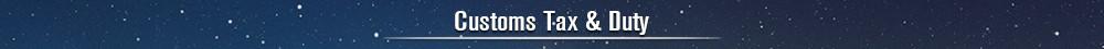 customs tax