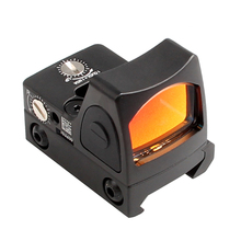 Holographic Sight Mini Reflex Red Dot Sight Glock 17 Scope Rifle Scope for Airsoft Hunting Rifle Hunting Shooting HT5-0004-2