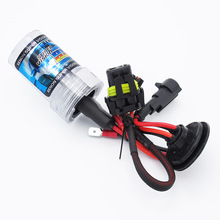 1pc Durable 12V 35W 55W H7 Xenon HID Headlight 3000K-12000K Automotive Headlamp bulb Green Pink Purple(China)