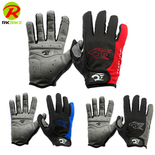 Wholesale mountain bike riding gloves full finger cycling gloves MTB road Warm gloves long bicycle gloves sport Outdoor B4055PJ