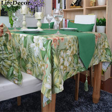 Bamboo table runner coffee table flag dining table mat dining table cloth fashion home tablecloth customize