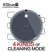 XShuai Cordless Bagless High Pressure Robot Vacuum Cleaner Automatic Household Floor Cleaning Machine Computer Cleaner Electric Mopping Sweeper Robot(China)