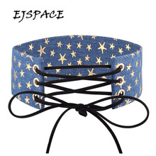 EJSPACE Fashion Sexy Harajuku Lace Up Women Jewelry Punk Gothic Choker Necklace Cowboy Collares Choker Anime Necklaces Women