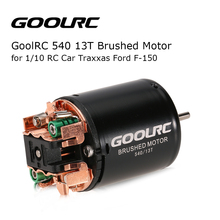 GOOLRC 540 13T Brushed Motor for 1/10 Traxxas Ford F-150 RC Car Quadcopter Toy Helicopter RC Parts Racing Drone(China)