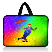 "Dancing Clown Soft Sleeve Case Bag Cover +Handle For 7"" inch Barnes & Noble NOOK & Samsung Galaxy Tab 2 Tablet PC(China)"