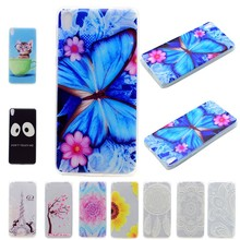 For Sony Xperia E5 E 5 Cases Cover Soft TPU Back Shell Coque Etui X Compact XA XZ Butterfly Cat Tower Black Sunflower Flower(China)