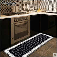beibehang High-quality kitchen mats Japanese-style long anti-skid anti-oil home mosaic door mat mat door pad can be customized