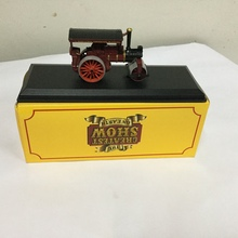 "1/87 THE CREATEST SHOW ON EARTH Burrell Road Roller  ""F.Sharp & Sons"" CONTRACTORS BLANDFORD CAR MODEL"