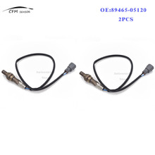 2PCS 89465-05120 New Rear Oxygen Air Fuel Ratio Sensor For Toyota Avensis T25 1AZFSE 2.0L