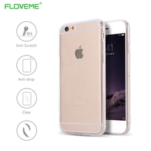 FLOVEME For iPhone 5s Case Shockproof Soft Silicone Phone Case For iPhone 6s Rugged Rubber Cover For iphon 7 7 Plus SE Cover
