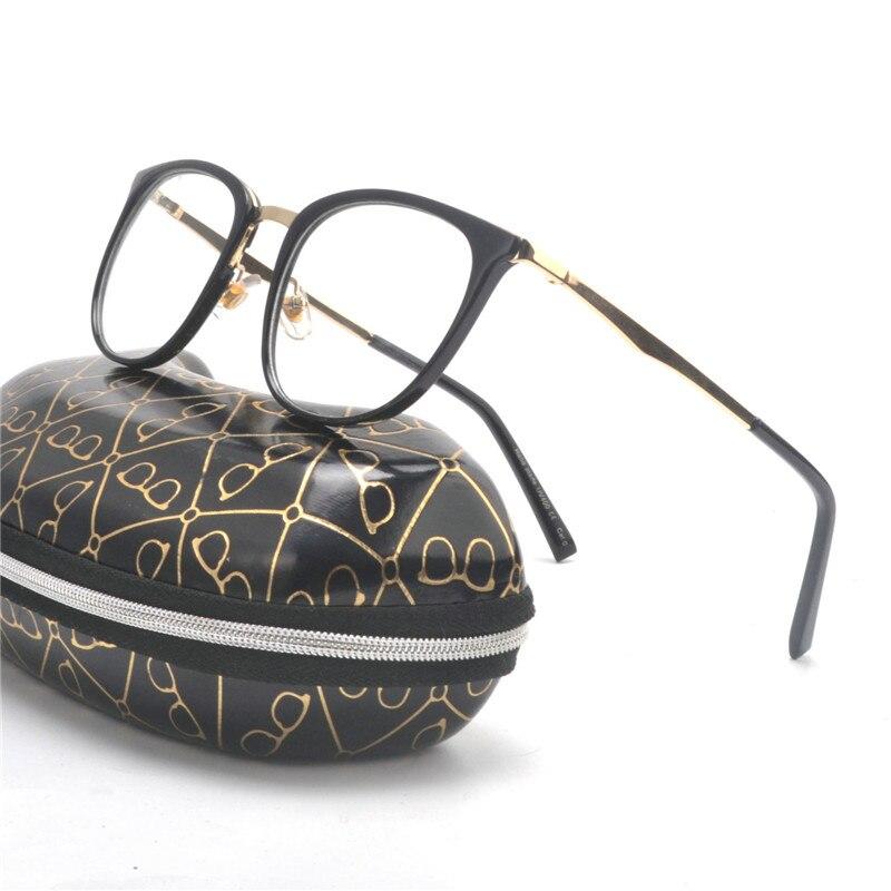 6106ac1df6 2019 Ladies Square Glasses Frames For Women Metal Legs Designer ...