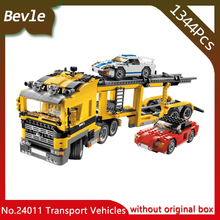 Bevle Store LEPIN 24011 134Technic Series Road Transport Vehicles Model Building Blocks set Bricks 6753 Children Toys - BevleBlocks store