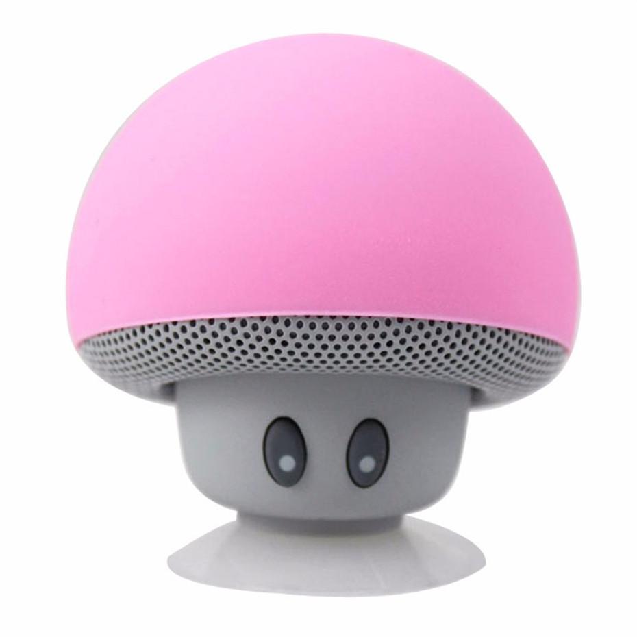 Wireless Mini Bluetooth Speaker Portable Mushroom Waterproof Stereo Bluetooth Speaker for Mobile Phone iPhone Xiaomi Computer PC  (4)