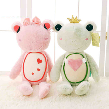 Huge stuffed animal 55cm/80cm/100cm Giant Stuffed Animals Kawaii Pillow Couple Frog Plush Toys Valentine Day Birthday Gift(China)
