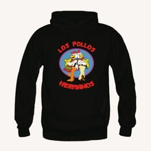 FASHION LOS POLLOS HERMANOS BREAKING BAD MENS SWEATSHIRTS HOODIE JUMPER MR WHITE HOODIES BRAND CLOTHING TOPS