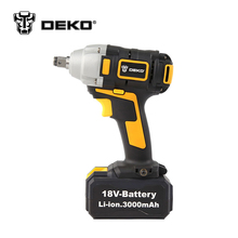 DEKO 18V Li-ion 0-2300r/min  3.0Ah 280N.m Electric Impact Wrench DIY Household Electric Wrench Cordless Drill Cordless Wrench
