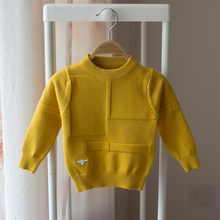 New 2017 autumn and winter children's long-sleeved sweater boy fashion sweaters children's baby sweater()