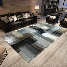 Nordic Style Geometric Living Room Carpets Rugs Non Slip Sofa Tea Table Mats Bedroom Rectangle Floor Mat Carpet(China)