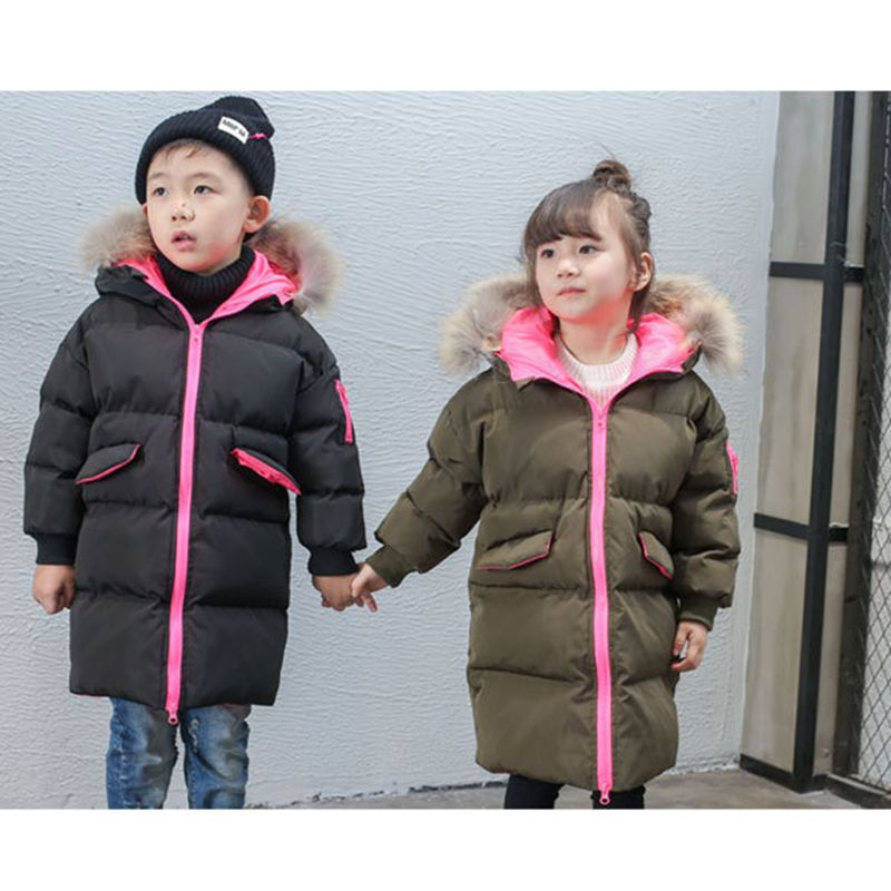 2016 New Fashion Autumn Winter Boy Girls Coat Thicken Children Warm Cotton-Padded Clothes Leisure Cute Kids Clothes HL0886Одежда и ак�е��уары<br><br><br>Aliexpress