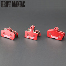 2 Pairs Bicycle Brake Pads Red Sintered for Shimano Saint M810/m985/ Avid Code R 2011-2015 MTB Bike Disc Brake Parts