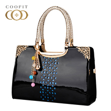 Coofit Office Lady Fashion Shoulder Bag Stylish Elegant Casual Tote Bags Unique Graceful Womens Handbag Daypack Messenger Bags
