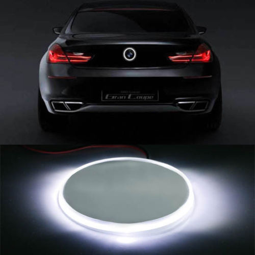 Free Shipping 1pc/lot car-styling Car Led Lamp 82mm Xenon White Emblem LED Background Light For BMW 1 3 5 7 Series X3 X5 X6<br><br>Aliexpress