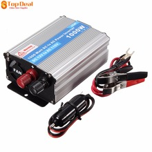 Car Power Inverter DC 12V to AC 220V 1000W Portable Car Power Inverter Charger Converter Transformer for Car Accessories