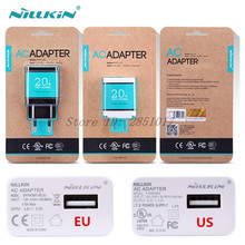 Original Nillkin AC Adapter Charger USB Phone Plug 5V 2A US EU Europe Standard Charger For iPhone Xiaomi Huawei Oneplus Meizu