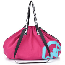 Large Big Capacity Holdall Outdoor Travel Handbag Canvas Gym Bag Yoga Mat Bag Drawstring Sports Bags Sporting Women Fitness Bag