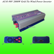 2017 Hot Selling 2000W Three Phase AC45V~90V Input, AC 230V Output SUN-2000G-WAL-48V Grid Tie Wind Power Inverter