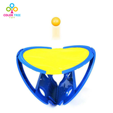 COLOR TREE 1 Pair Beach Ball Throwing Catching Ball Toys Kids Handball Indoor Outdoor Beach Toy for Children Adults Sports Game