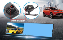 Front and Rearview Carcam User Manual Full HD 1080P Car Camera Video Recorder G-sensor Night Vision Vehicle DVR Camcorder
