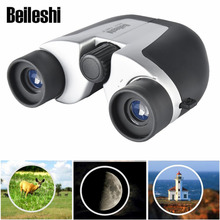 Beileshi Optical Glass Lens High Definition 8X Binocular Telescope Paul Prism System Life Waterproof Civil Travel Mini Telescope