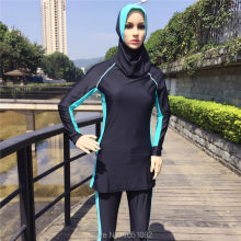 8XL-S Muslim Swimwear women Islamic Swimsuits For Muslima Covered Swimsuits Long Sleeve Beach Wear Plus Size 2 or 3pcs/set(China)